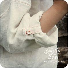 Tab-Sleeve Tunic - Melly Sews
