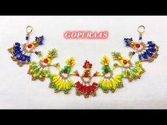 Bead Jewellery, Beaded Jewelry, Beaded Bracelets, Necklaces, Beaded Necklace, Embroidery Flowers Pattern, Flower Patterns, Beaded Brooch, Crochet Earrings