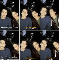 Dylan O´Brien and Dylan Sprayberry
