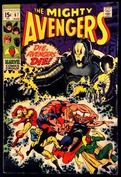 Avengers 67 August 1969