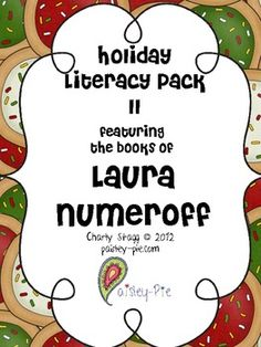Holiday Literacy Pack #2