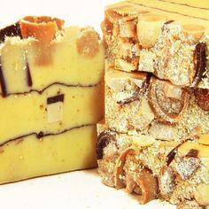 Almond Biscotti Vegan Cold Process Soap