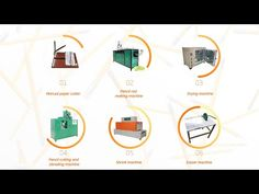 WASTE PAPER PENCIL PRODUCTION LINE خط انتاج القلم الرصاص من ورق المجلات والجرائد  Factory Directly Supply Low price Complete School Recyc...