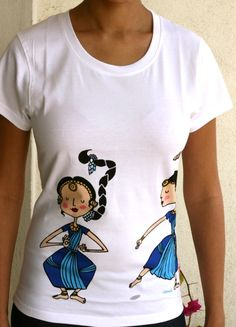 Dancers of India T Shirt by Chumbak