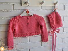 Tras el Punto de Paula Knitting For Kids, Crochet For Kids, Crochet Baby, Knit Crochet, Baby Knitting Patterns, Baby Patterns, Baby Barn, Bebe Baby, Other Outfits