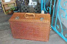 Pannier Basket レトロ バスケット【籐 トランク】バッグ 検) アンティーク インテリア 雑貨 家具 Antique ¥2000yen 〆12月16日