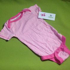 Body de cuadritos, marca Miniwear, 3-6 meses. Q20.00