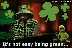 Hope you had a great St. Patrick's Day! #TheVoice #TeamCeeLo