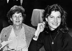 Cindy Weber-Cleary with her mother, Lee.