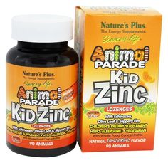 Save on Animal Parade KidZinc Lozenges Tangerine by Natures Plus and other Children's Vitamins, Zinc and GMP Certified remedies at Lucky Vitamin. Shop online for Vitamins & Minerals, Natures Plus items, health and wellness products at discount prices. Energy Supplements, Nutritional Supplements, Slippery Elm, Asthma Symptoms, Natural Vitamins, Natural Energy, Natural Flavors, Whole Food Recipes, Health And Wellness