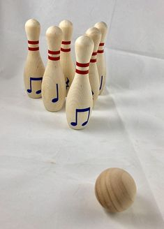 Music, music education, music game, Music Bowling Game, Composition Set by RhythmicallyYours on Etsy Music Lessons For Kids, Piano Lessons, Music Activities, Music Games, Rhythm Games, Preschool Songs, Piano Teaching, Teaching Kids, Learning Piano