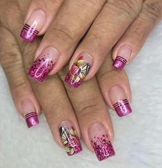 Marble Nail Art, Acrylic Nail Art, Beauty Art, Hair Beauty, Perfect Nails, Nail Tips, Gel Nails, Nail Designs, Nailart