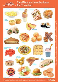 Finger Food Chart 9 Month Old See More Small Meal And Lunchbox Ideas