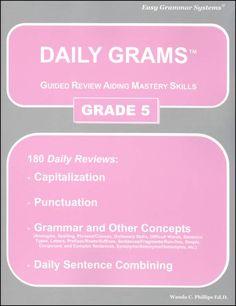 Daily Grams Grade 5 | Main photo (Cover)