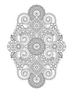 Popular Create Coloring Book 85 Flower Designs I Create