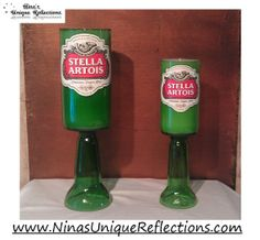 Set of 2 Stella Artois Scented Beer Bottle Candles by UReflections, $28.00