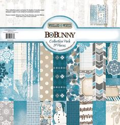 Bo Bunny - Woodland Winter Collection - 12 x 12 Collection Pack at Scrapbook.com
