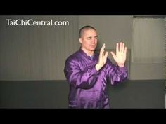 Ian Sinclair. Yang Style 24 - lesson 26 - Apparent Close and Counter with Push