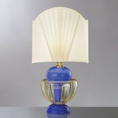 """""""Cleide"""" Murano glass table lamp - detail"""