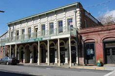The Gold Rush town of Jacksonville, Oregon, has been designated as a National Historic Landmark Community.