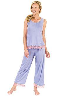 Lavender Seashell Modal Pajamas & More | PajamaGram