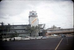 Honolulu Airport - 1951 (before the newer airport terminal was built)