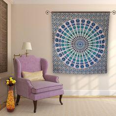 Buy beautiful mandala wall tapestry to decor your house on this Christmas.  #homedecor #mandalatapestry