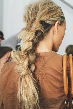 NY Fashion Week Michael Kors  Hair by Orlando Pita