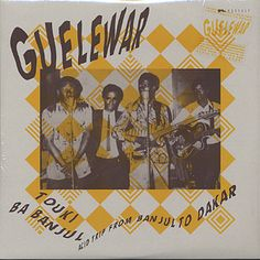 Gelewar 1970s psychadelic band from Gambia