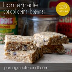 homemade protein bars. Made these with cherries instead of dates and they turned out yummy!