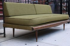 SOLD Mid Century Modern Couch / Day Bed by remodernnyc on Etsy