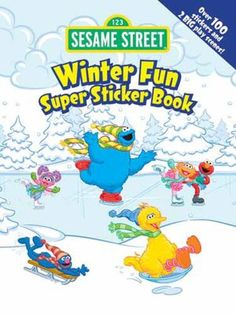Sesame Street and stickers, you can't go wrong!