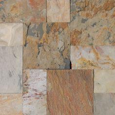 Indian Autumn Gauged Slate Tile