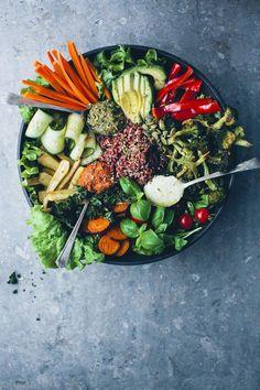 the mother of all veggie bowls | healthy recipe ideas @xhealthyrecipex |