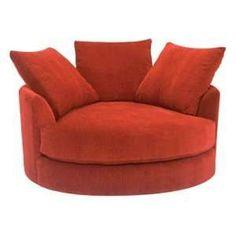 round lounge chair man