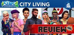 Sims 4 City Living Review on SA Gamer