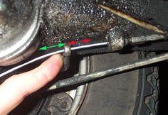 Scooter Help - Replacing Cables -Vespa Clutch Vespa, Wasp, Hornet, Vespas
