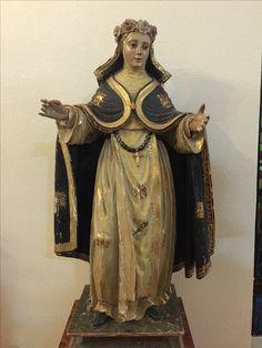 St. Rose of Lima. Santo Domingo Convent, Caleruega, Spain