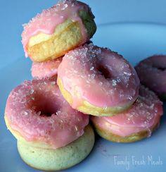 Mini baked dounuts