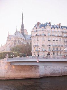 Bridges of Paris - Vicki Archer //  https://www.instagram.com/vickiarcher/