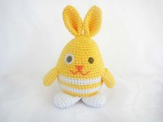 Ravelry: Amigurumi Rabbit: Lemon Drop the Easter Bunny pattern by Ida Herter