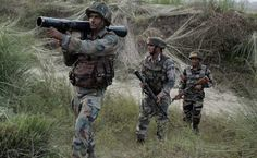 FRESH     NEWS       OF           INDIA: J&K: Army Major, 2 soldiers martyred in firing by ...