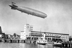 Friedrichshafen where they built the zeppelins. Amazing place.