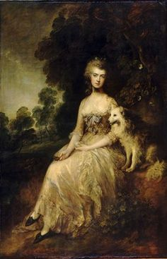 Mrs Mary Robinson: Perdita by Thomas Gainsborough