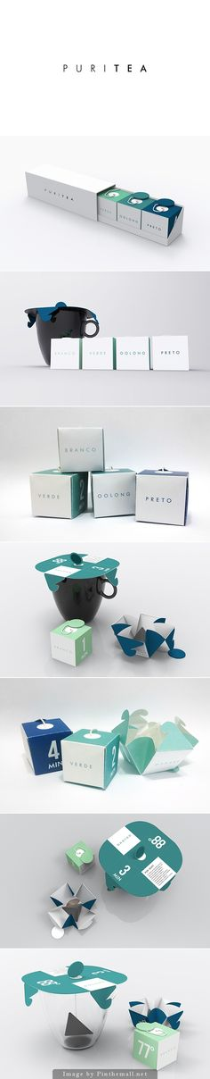 packaging / package design | Puritea by Vinicius Hideki