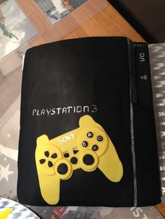 how to make a playstation 3 controller cake