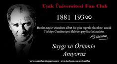 Uşak Üniversitesi Öğrencilerinin Buluşma Noktası: 10 Kasım 193∞ ..!!!