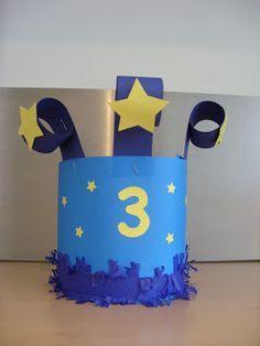 papieren verjaardagskroon maken - Google zoeken