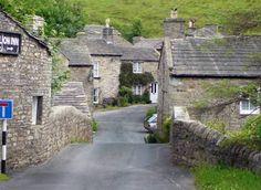 North Yorkshire Village, UK