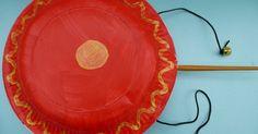 Chinese New Year crafts - Chinese drum